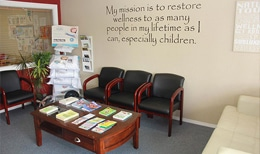 Pain Management Santa Maria CA Waiting Room